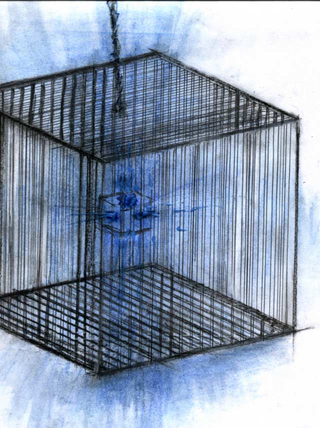 CAGE OF LIGHT-a-2004